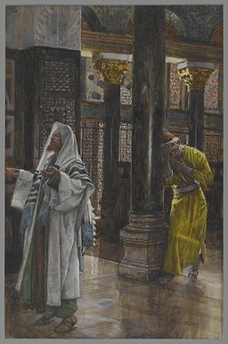 Tissot The Pharisee and the publican Brooklyn