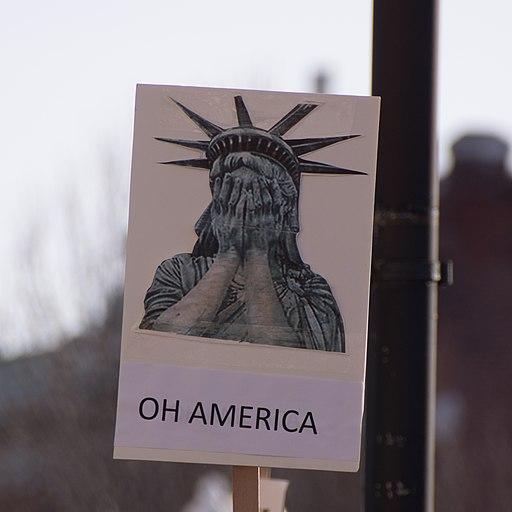 Oh America -WomensMarch -WomensMarch2018 -SenecaFalls -NY (38908982905)