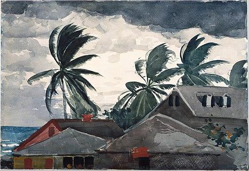 Winslow Homer - Hurricane, Bahamas