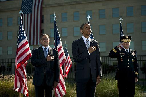 President Barack Obama visits Pentagon for Sept. 11 ceremony - Washington, D.C. 2012
