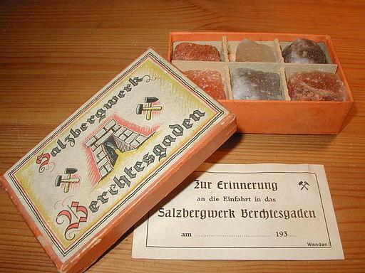 Salt from Berchtesgaden