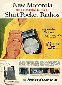 Motorola Transistor Radio 1960