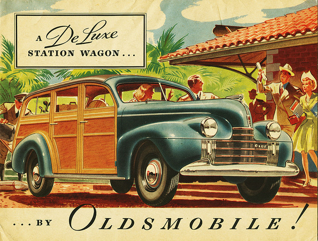 1940 Oldsmobile Station Wagon