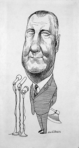 Spiro Agnew by Edmund S. Valtman ppmsc.07953