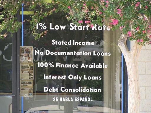 Subprime Mortgage Offer