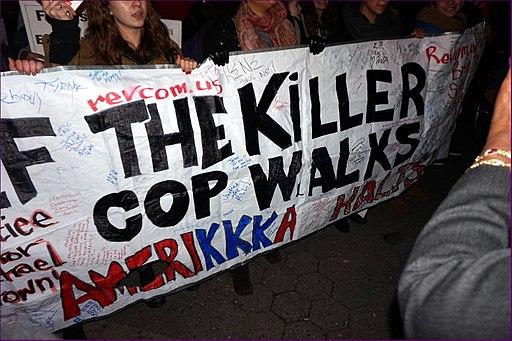 Eric Garner Protest 4th December 2014, Manhattan, NYC (15947700981)