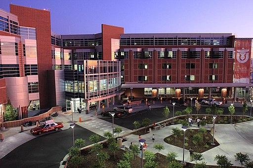 University of Utah Hospital in 2009