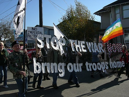 27 Oct 2007 Seattle Demo - Vets for Peace 02