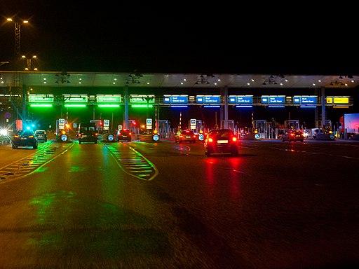 Storebaelt toll area