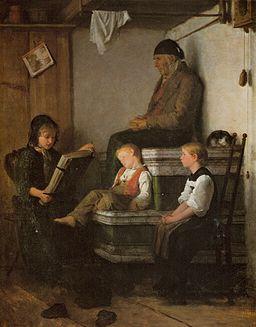 Anker Sonntagnachmittag 1861