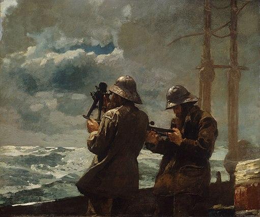 WinslowHomer-Eight Bells 1886