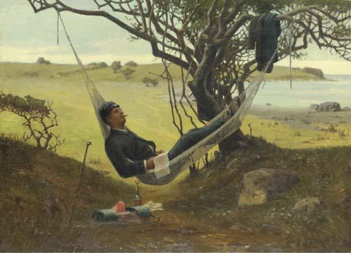 Niels Frederik Schiøttz-Jensen An afternoon's rest