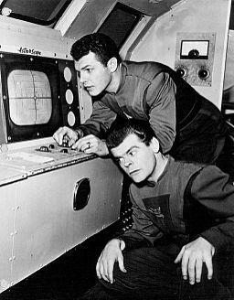 Ed Kemmer Lyn Osborn Space Patrol 1954