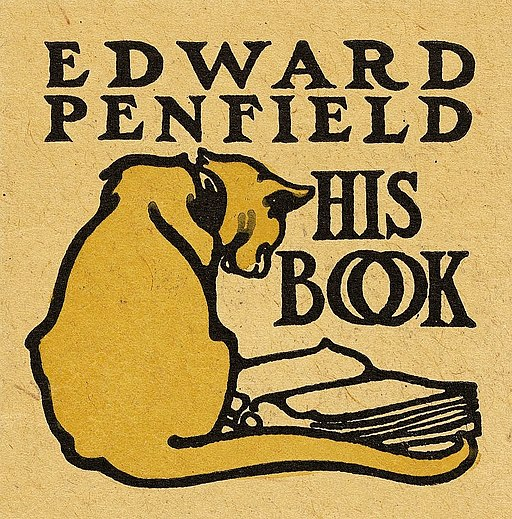 Bookplate of Edward Penfield