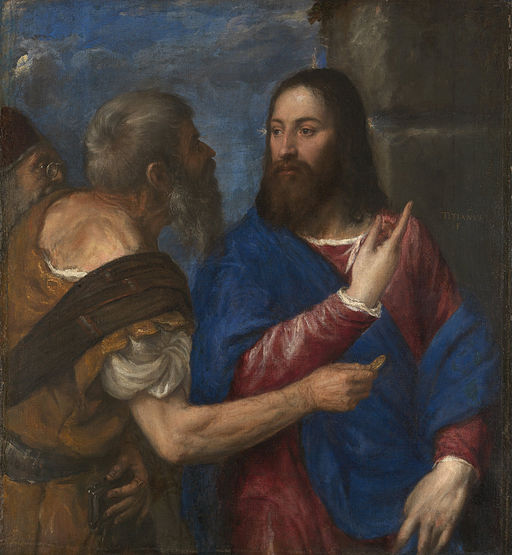 Titian - The Tribute Money - Google Art Project