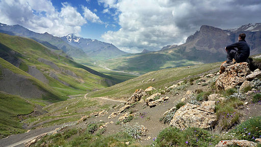 Azerbajiani landscape - Another version