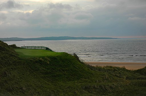Doonbeg 14th hole