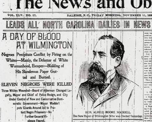 News & Observer History Rewrite