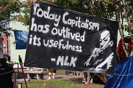 'Today capitalism has outlived its usefulness' MLK